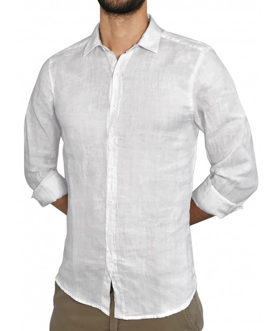 LINEN shirt SHIRTS
