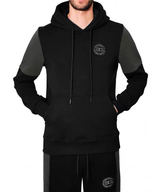 FACE FOOTER hoodie HOODIES & SWEATSHIRTS