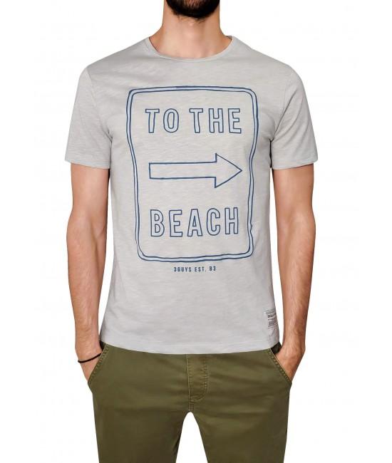 TO THE BEACH t-shirt T-SHIRT