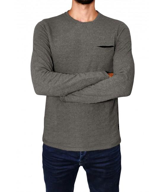 AUGUSTIN knit blouse BLOUSES
