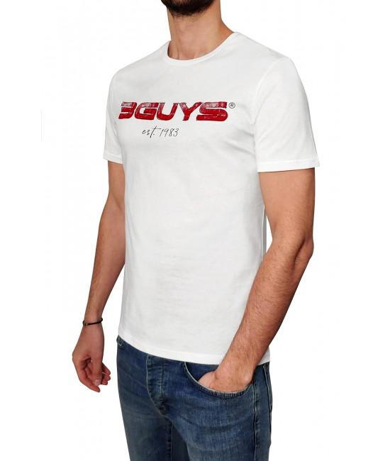 3GUYS BRUSH t-shirt T-SHIRT
