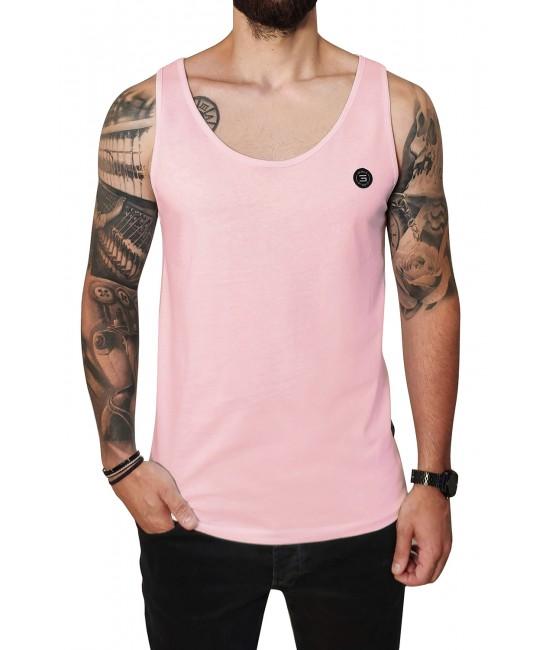 BASIC PATCH vest T-SHIRT