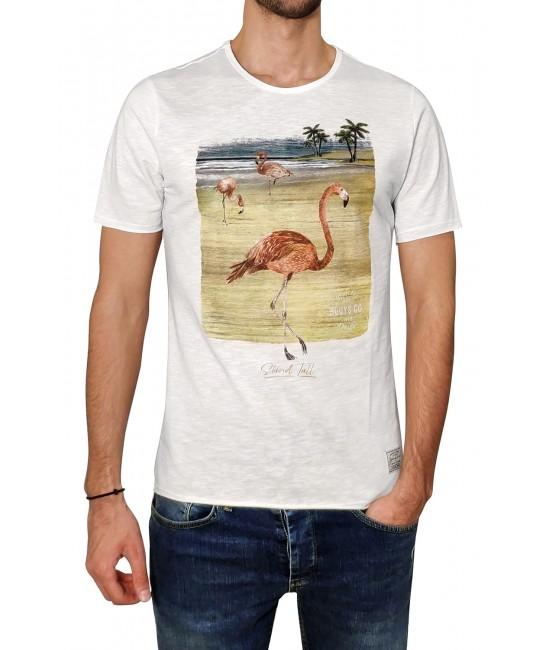 FLAMINGO t-shirt T-SHIRT