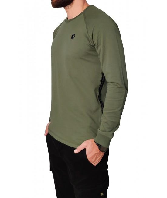 BLACK BELT hoodie blouse HOODIES & SWEATSHIRTS