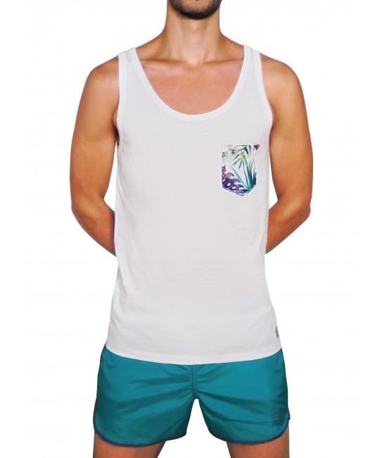 POCKET vest T-SHIRT