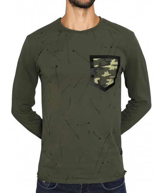 ARMY POCKET blouse BLOUSES