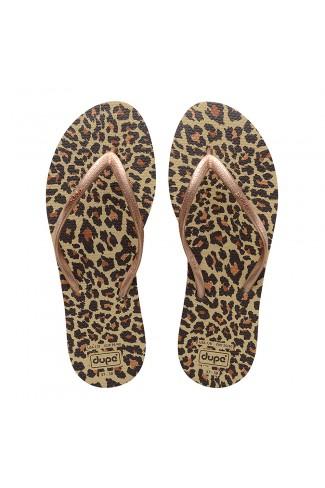 EXOTICA BROWN Women's flip-flops