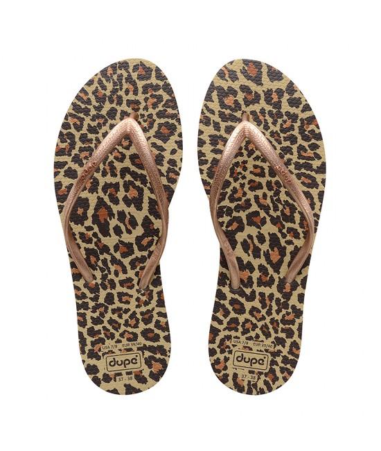 EXOTICA BROWN Women's flip-flops FLIP FLOPS