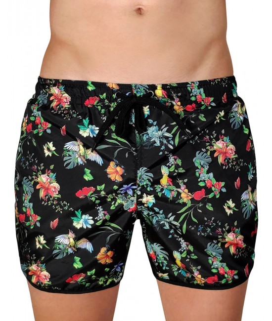 COLORFUL FLOWERS swimwear