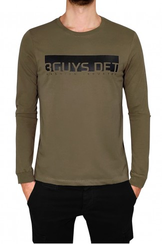 3GUYS DET blouse