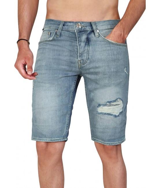 DES jean shorts SHORTS