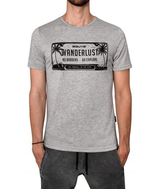 WONDERLUST t-shirt T-SHIRT