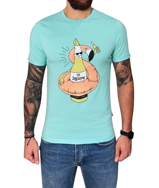 BEER FLAMINGO t-shirt NEW ARRIVALS
