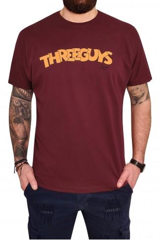 THREE GUYS t-shirt
