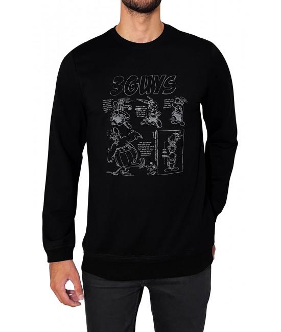 COMIC hoodie blouse BLOUSES