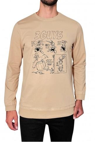 COMIC hoodie blouse