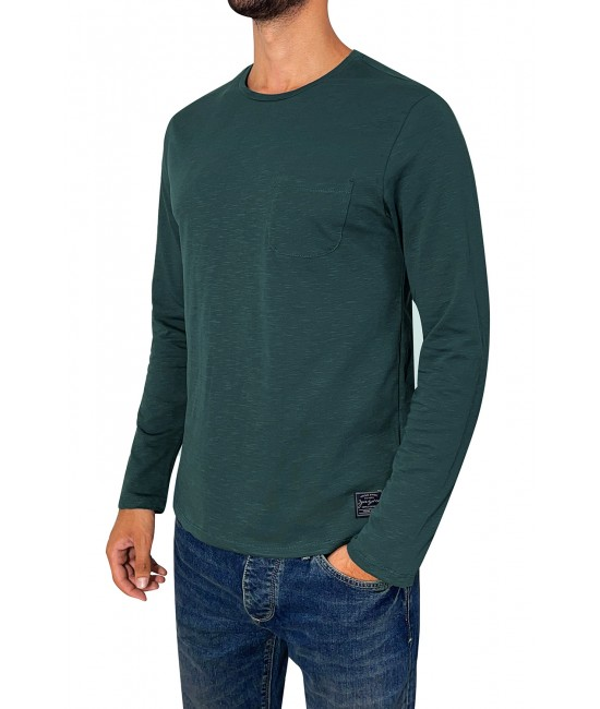 OVAL POCKET LONG blouse BLOUSES
