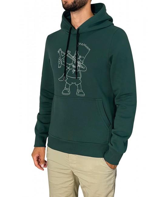 BART SIMPSON hoodie HOODIES